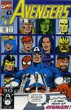 Cover for The Avengers (Marvel, 1963 series) #329 [Direct]