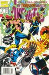 Cover for Avengers: The Terminatrix Objective (Marvel, 1993 series) #2 [Newsstand Edition]