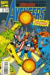 Cover for Avengers: The Terminatrix Objective (Marvel, 1993 series) #3 [Direct Edition]