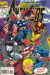 Cover for Avengers: The Terminatrix Objective (Marvel, 1993 series) #4 [Direct Edition]