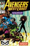 Cover for Avengers West Coast (Marvel, 1989 series) #48 [Direct]