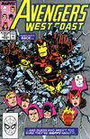 Cover for Avengers West Coast (Marvel, 1989 series) #51 [Direct]
