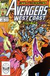 Cover for Avengers West Coast (Marvel, 1989 series) #53 [Direct]