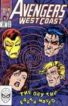 Cover for Avengers West Coast (Marvel, 1989 series) #58 [Direct]