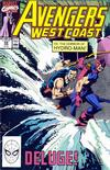 Cover for Avengers West Coast (Marvel, 1989 series) #59 [Direct]