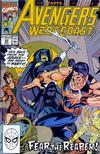 Cover for Avengers West Coast (Marvel, 1989 series) #65 [Direct]
