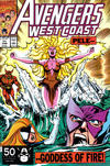 Cover Thumbnail for Avengers West Coast (1989 series) #71 [Direct Edition]