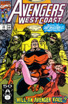 Cover Thumbnail for Avengers West Coast (1989 series) #73 [Direct Edition]