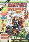 Cover for Giant-Size Avengers (Marvel, 1974 series) #1