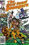 Cover Thumbnail for West Coast Avengers (1985 series) #3 [Newsstand]