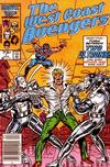 Cover Thumbnail for West Coast Avengers (1985 series) #7 [Newsstand]