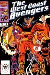 Cover for West Coast Avengers (Marvel, 1985 series) #9 [Direct]