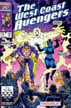 Cover for West Coast Avengers (Marvel, 1985 series) #12 [Direct]