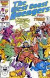 Cover for West Coast Avengers (Marvel, 1985 series) #15 [Direct Edition]