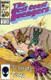 Cover for West Coast Avengers (Marvel, 1985 series) #20 [Direct Edition]