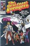 Cover for West Coast Avengers (Marvel, 1985 series) #21 [Direct]