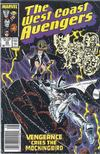 Cover for West Coast Avengers (Marvel, 1985 series) #23 [Newsstand Edition]