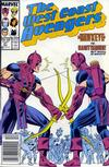 Cover Thumbnail for West Coast Avengers (1985 series) #27 [Newsstand Edition]