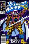 Cover Thumbnail for West Coast Avengers (1985 series) #30 [Newsstand Edition]