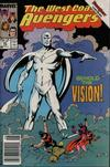 Cover Thumbnail for West Coast Avengers (1985 series) #45 [Newsstand]