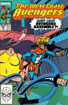 Cover Thumbnail for West Coast Avengers (1985 series) #46 [Direct Edition]