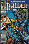 Cover for Balder the Brave (Marvel, 1985 series) #1 [Newsstand Edition]