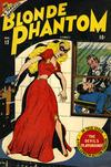 Cover for Blonde Phantom Comics (Marvel, 1946 series) #12