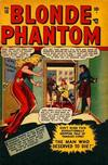 Cover for Blonde Phantom Comics (Marvel, 1946 series) #15