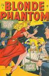 Cover for Blonde Phantom Comics (Marvel, 1946 series) #19