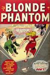 Cover for Blonde Phantom Comics (Marvel, 1946 series) #20