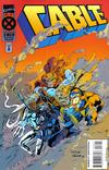 Cover for Cable (Marvel, 1993 series) #18 [Deluxe Direct Edition]