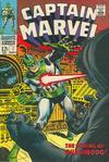 Cover for Captain Marvel (Marvel, 1968 series) #7