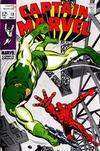 Cover for Captain Marvel (Marvel, 1968 series) #13