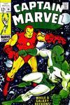 Cover for Captain Marvel (Marvel, 1968 series) #14