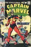 Cover for Captain Marvel (Marvel, 1968 series) #17