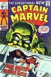 Cover for Captain Marvel (Marvel, 1968 series) #19