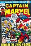 Cover for Captain Marvel (Marvel, 1968 series) #23