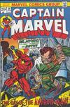 Cover for Captain Marvel (Marvel, 1968 series) #24