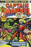 Cover for Captain Marvel (Marvel, 1968 series) #25 [Regular Edition]