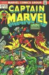 Cover for Captain Marvel (Marvel, 1968 series) #27 [Regular Edition]