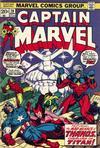 Cover for Captain Marvel (Marvel, 1968 series) #28 [Regular Edition]