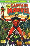 Cover for Captain Marvel (Marvel, 1968 series) #32