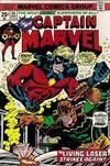Cover for Captain Marvel (Marvel, 1968 series) #35 [Regular Edition]