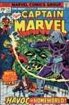 Cover for Captain Marvel (Marvel, 1968 series) #41 [Regular Edition]