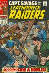 Cover for Capt. Savage and His Leatherneck Raiders (Marvel, 1968 series) #6