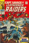 Cover for Capt. Savage and His Leatherneck Raiders (Marvel, 1968 series) #7