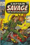 Cover for Capt. Savage and His Leatherneck Raiders (Marvel, 1968 series) #9