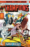 Cover for The Champions (Marvel, 1975 series) #4 [Regular Edition]