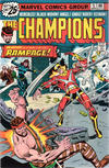 Cover for The Champions (Marvel, 1975 series) #5 [25¢ Cover Price]