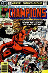 Cover for The Champions (Marvel, 1975 series) #7 [25¢ Cover Price]